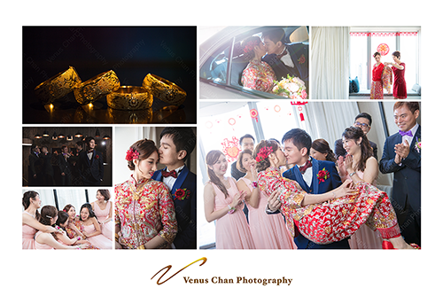 Venus攝影師工作紀錄: hong Kong Wedding Day Photography